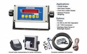 Heavy-Capacity Hydraulic Scale