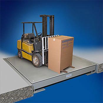 Heavy Duty Loading Towmotor Floor Scale