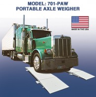 Cambridge 701PAW Portable Axle Scale
