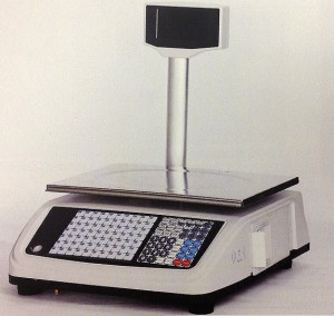 PSI PS60PC Retail Scale