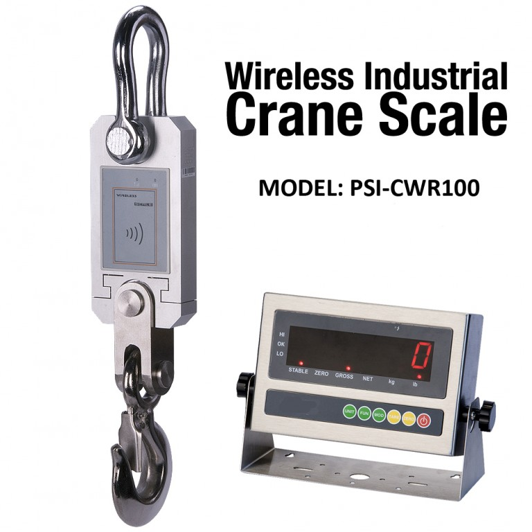 PSI CWR-100 Wireless Industrial Crane Scale