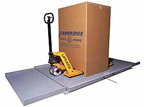 Ultra-low Profile Super-duty Floor Scale