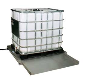 Ultra-low profile Container Floor Scale